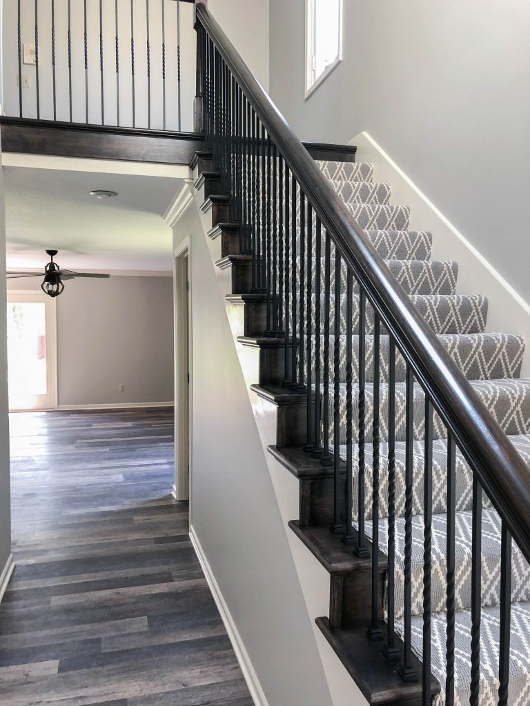 Staircase Renovation After – Bryan Casey Construction