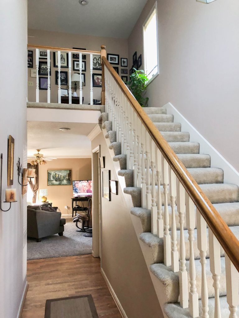 Staircase Renovation Before – Bryan Casey Construction