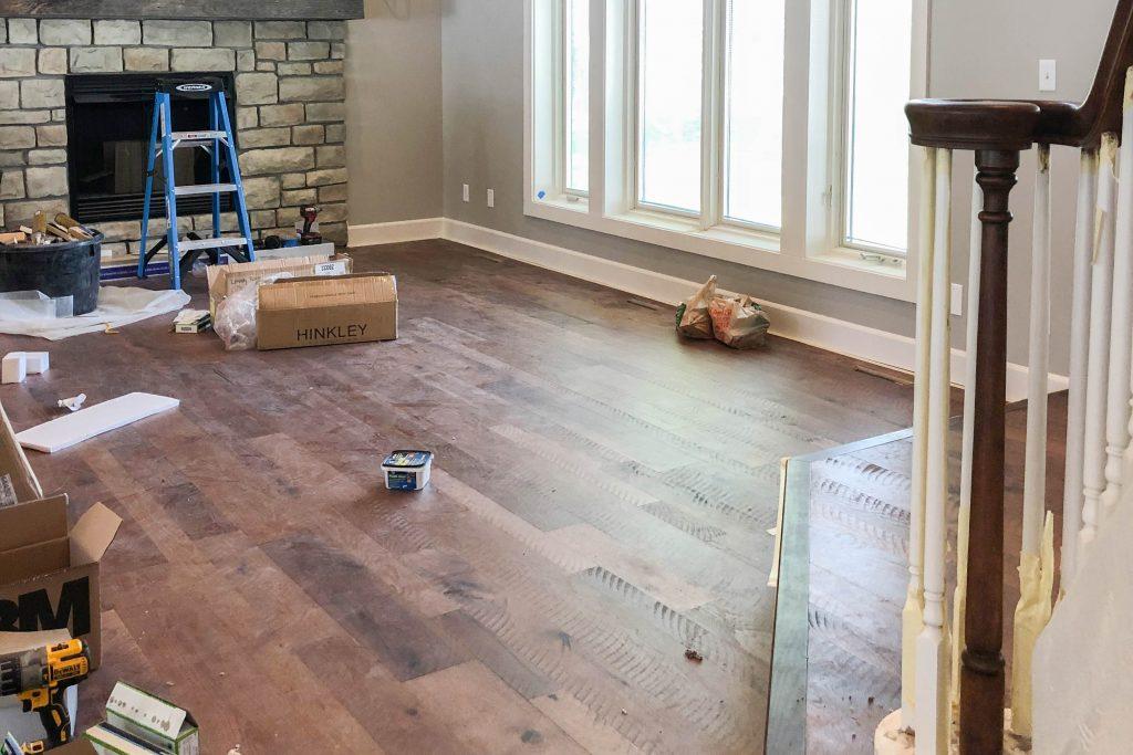 Living Room Renovation Before – Bryan Casey Construction