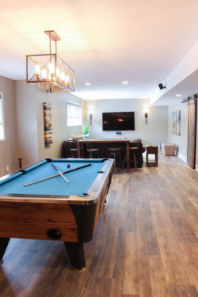Basement Renovation After – Bryan Casey Construction