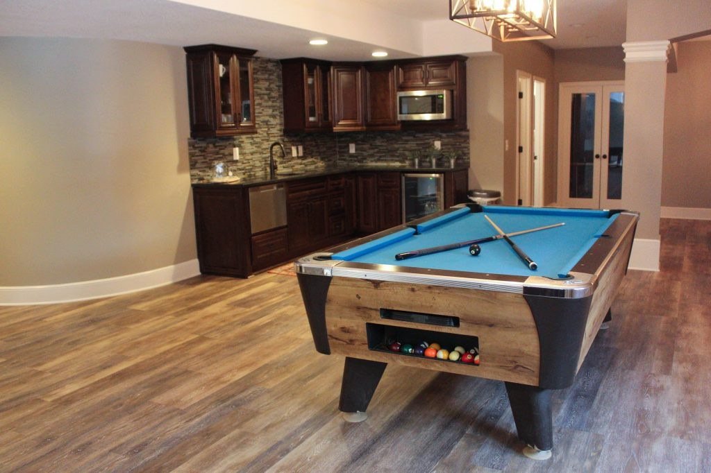 Bryan Casey Construction Basement remodel